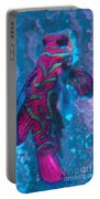 Abstract Fish Portable Battery Charger