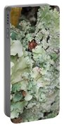 Abstract Floral 2 Portable Battery Charger