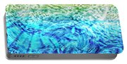Abstract Floral Dl312016 Portable Battery Charger