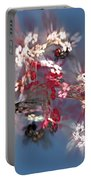 Abstract Floral Fantasy  Portable Battery Charger