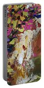 Abstract Floral Study Portable Battery Charger