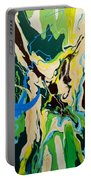 Abstract Flow Green-blue Series No.1 Portable Battery Charger