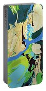 Abstract Flow Green-blue Series No.2 Portable Battery Charger