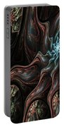 Abstract Fractal 050810 Portable Battery Charger
