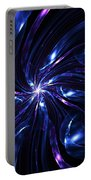 Abstract Fractal 051910 Portable Battery Charger