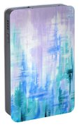 Abstract Frost 2 Portable Battery Charger