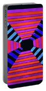 Abstract Fun Tunnel Portable Battery Charger
