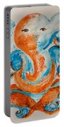Abstract Ganesha Portable Battery Charger
