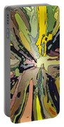 Abstract Garden Defined Portable Battery Charger