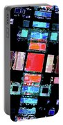 Abstract Geometric Art Portable Battery Charger