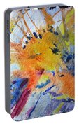 Abstract Gold Portable Battery Charger