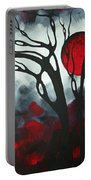 Abstract Gothic Art Original Landscape Painting Imagine I By Madart Portable Battery Charger
