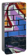 Abstract Graffiti Portable Battery Charger