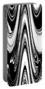 Abstract IIi Death Mask Portable Battery Charger
