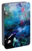Abstract Improvisation Portable Battery Charger by Wolfgang Schweizer