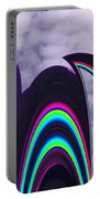 Abstract In The Clouds Portable Battery Charger