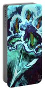 Abstract Iris Portable Battery Charger