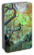 Abstract Japanese Maple Tree 3 Portable Battery Charger