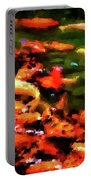 Abstract Koi 38 Portable Battery Charger