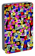 Abstract Laberinto 2 Portable Battery Charger