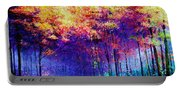 Abstract Landscape 0830a Portable Battery Charger
