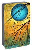 Abstract Landscape Art Passing Beauty 1 Of 5 Portable Battery Charger