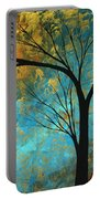 Abstract Landscape Art Passing Beauty 3 Of 5 Portable Battery Charger