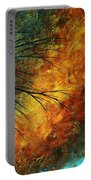 Abstract Landscape Art Passing Beauty 5 Of 5 Portable Battery Charger