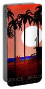 Abstract Landscape Beach Art 3 - By Diana Van Portable Battery Charger
