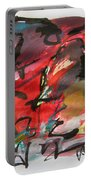 Abstract Landscape Sketch13 Portable Battery Charger