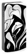 Abstract Lilies Portable Battery Charger