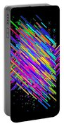 Abstract Lines Portable Battery Charger