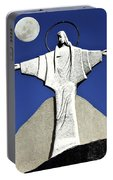 Abstract Lutheran Cross 5 Portable Battery Charger