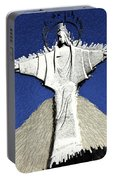Abstract Lutheran Cross 5a Portable Battery Charger