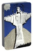 Abstract Lutheran Cross 5a1 Portable Battery Charger