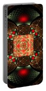 Abstract Mandala 2 Portable Battery Charger