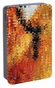 Abstract Modern Art - Pieces 8 - Sharon Cummings Portable Battery Charger