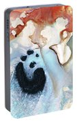 Abstract Modern Art - The Vessel - Sharon Cummings Portable Battery Charger