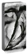 Abstract Monochome 154 Portable Battery Charger
