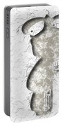 Abstract Monster Cut-out Series - Sandstone Trooper Portable Battery Charger