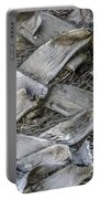 Abstract Nature Tropical Palm Tree Bark 1873a Portable Battery Charger