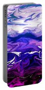 Abstract Ocean Fantasy One Portable Battery Charger