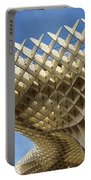 Abstract Of Metropol Parasol Pod At Plaza Of The Incarnation Sev Portable Battery Charger
