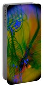Abstract Of Music And Harmony Portable Battery Charger