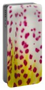 Abstract Orchid Portable Battery Charger