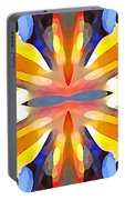 Abstract Paradise Portable Battery Charger