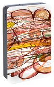 Abstract Pen Drawing Eight Portable Battery Charger