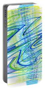 Abstract Pen Drawing Forty Portable Battery Charger
