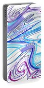 Abstract Pen Drawing Forty-two Portable Battery Charger
