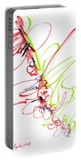 Abstract Pen Drawing Seventy Portable Battery Charger